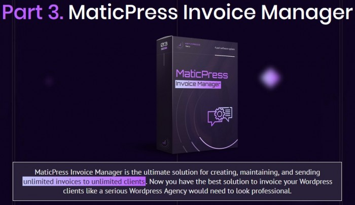 MaticPress Agency By Ben Murray Review