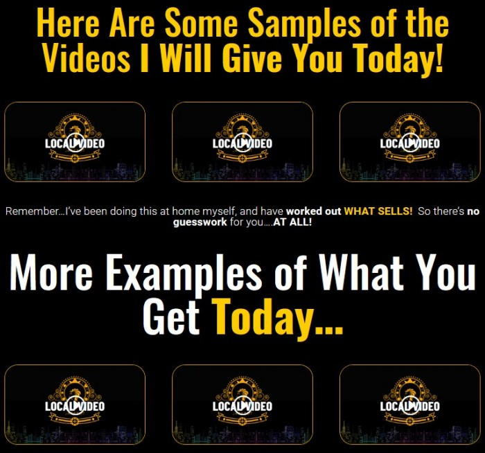 Local Video Jackpot Video Training Course By Trevor Carr, Bobby Dolce, and Eric Hammer Review