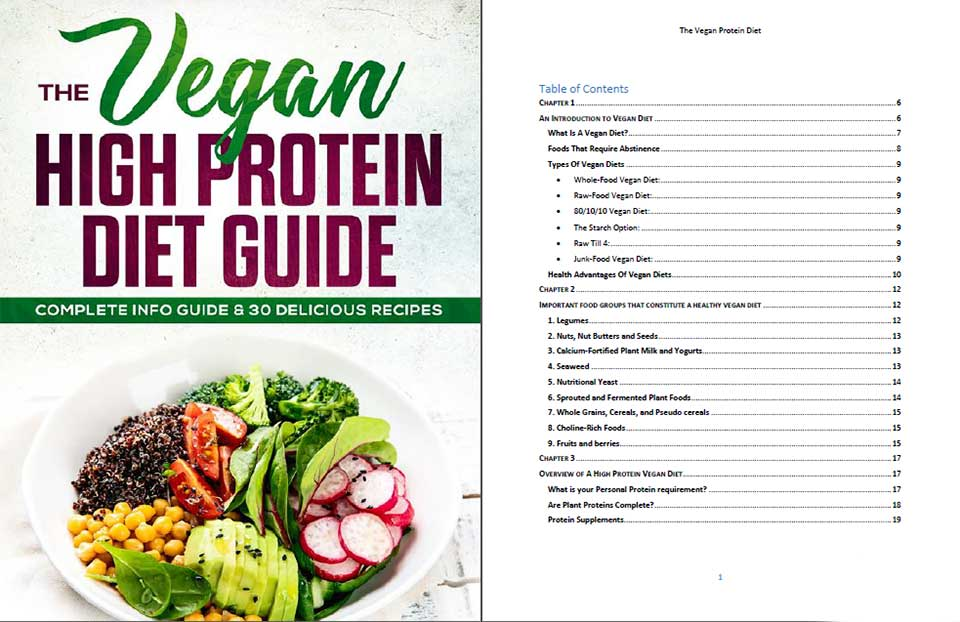 The Vegan High Protein Guide PLR By Sorin Constantin Review