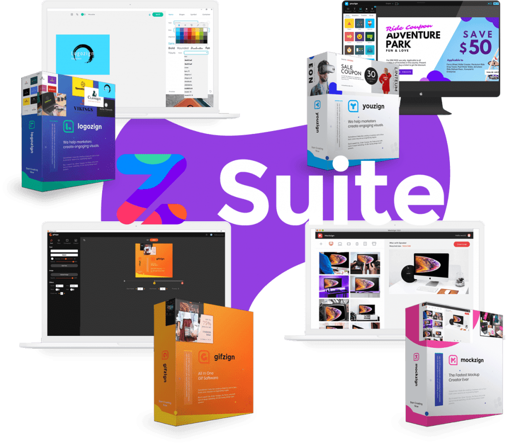 ZSuite Graphic Design Suite By Youzign Review
