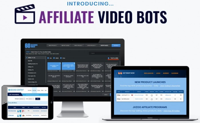 Affiliate Video Bot By Rich Williams Review