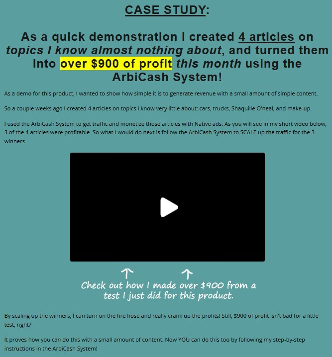 ArbiCash System PLR By Eric Holmlund Review
