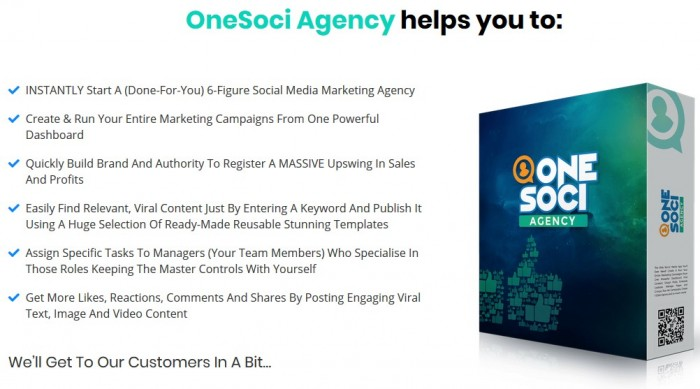 OneSoci Agency Licence By Mark Laxton Review