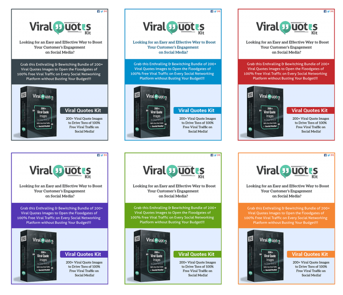 Viral Quotes Kit PLR By Firelaunchers Review