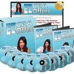 EZ CPA Offers PLR Video Series By Jason Oickle Review – Amazing Brand New Over-The-Shoulder PLR Video Course Shows You Exactly How To Profit With Smart CPA Offers!
