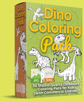 Dino Coloring Pack By Pixelcrafter Review
