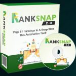 RANKSNAP 2.0 By Tom Yevsikov & Gaurab Borah Review – The All-In-One SEO, Automated Backlink Software! A.I System Ranks ANYTHING In A Snap With Effortless Simplicity & Makes The Rankings STICK!""