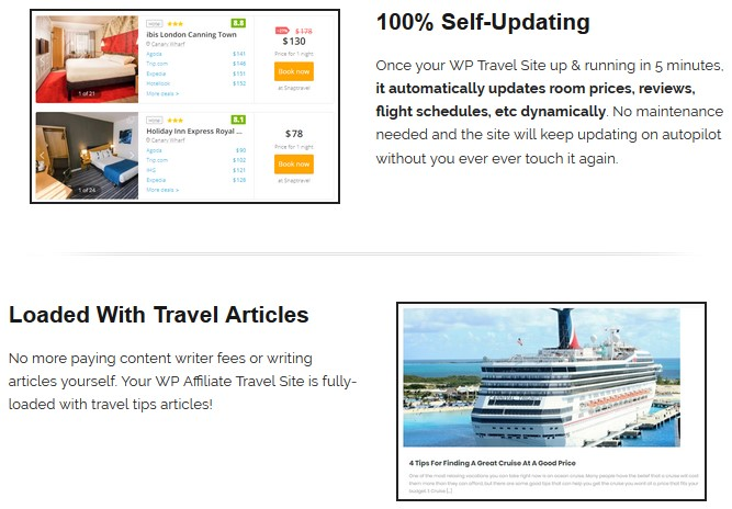 WP Travel Site V1 By BCBiz WpThemePlugin.com Review