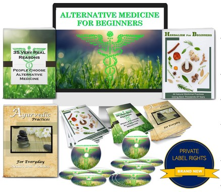 Alternative Medicine For Beginners PLR Pack By JR Lang Review