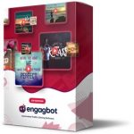 EngagBot VIP Edition By Brett Ingram & Mo Latif Review – OTO #1 Of EngagBot. ULTIMATE Content Maker & Messenger, Built-In 100,000 Quotes, 30,000 Background Images For UNLIMITED Traffic On Autopilot