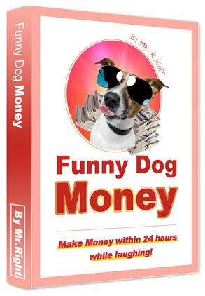 Funny Dog Money By Mr Right Me Review