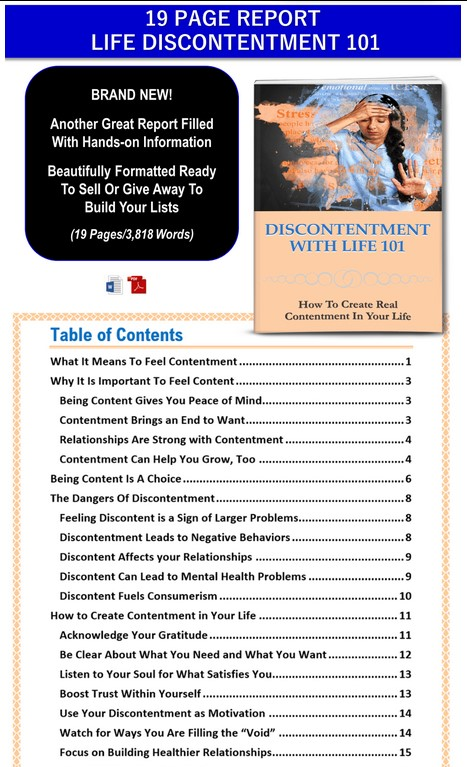 Overcome Common Life Challenges PLR Pack By JR Lang Review