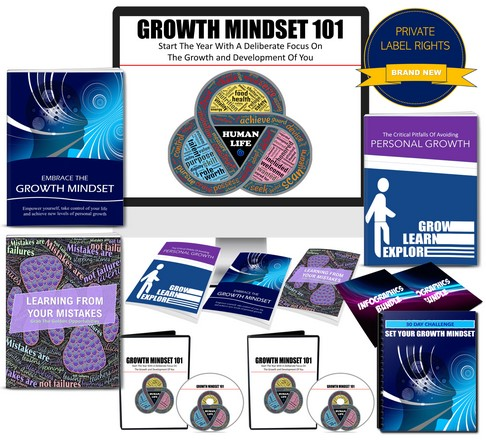 Growth Mindset 101: Start The Year With A Deliberate Focus On Your Personal Growth PLR Pack By JR Lang Review