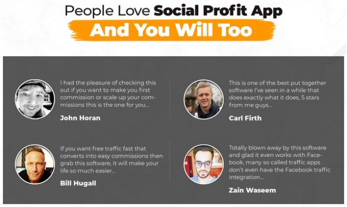 Social Profit App By Billy Darr & Justin Opay Review