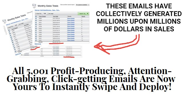 5,001 Profit Producing Emails By Matt Bacak Review