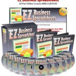 EZ Business Spreadsheets PLR Video Training By Jason Oickle Review – New Video Training With Private Label Rights Teaches You How To Automate Your Business With Excel Shortcuts