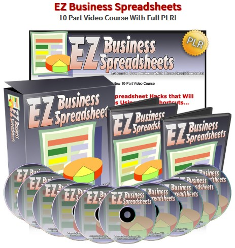 EZ Business Spreadsheets PLR Video Training By Jason Oickle Review