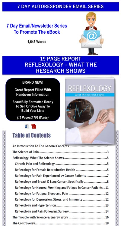 Reflexology Giant PLR By JR Lang Review