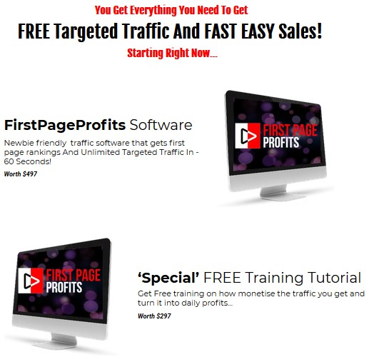First Page Profit By Vick Carty Review