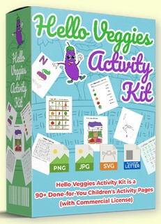 Hello Veggies Activity Kit By Pixelcrafter Review