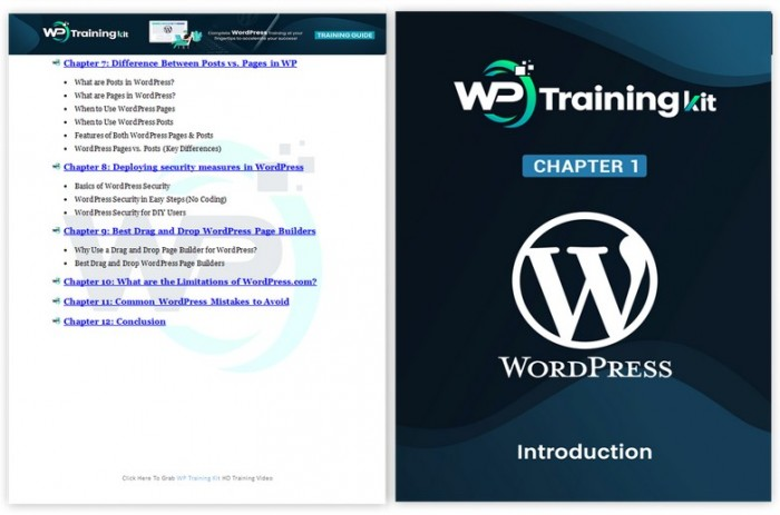 WP Training Kit PLR By Firelaunchers Review