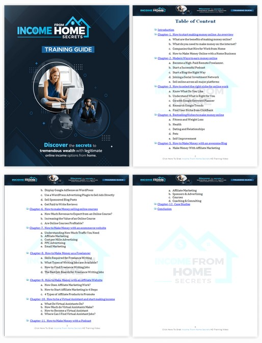 Income from Home Secrets PLR By Firelaunchers Review