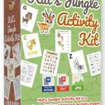 Kids Jungle Activity Kit By Pixelcrafter Review – Get 10 MODULES with Over 120 PAGES of Activity Kit… You Can Use to PUBLISH Your Own Children's Activity Book…