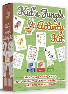 Kids Jungle Activity Kit By Pixelcrafter Review