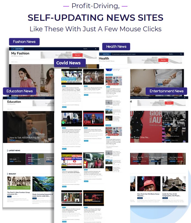 News Builder 2.0 By Amit Gaikwad Review