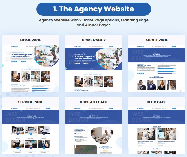 Web Agency Box By FairyDawn Review