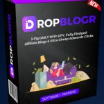 DropBlogr By Tom Yevsikov & Gaurab Borah Review – Create Drop Dead Gorgeous & High Converting Review Blogs Packed With Unique Bonuses, Converting Products, Professional Reviews & Content, Written By Professional Copywriters To Start Earning Even If You Have 0 Experience With Affiliate Marketing
