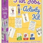 Fun Jobs Activity Kit By Pixelcrafter Review – Get 10 NEW MODULES with Over 140 PAGES of Activity Kit… You Can Use to PUBLISH Your Own Children's Activity Book…