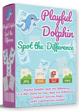 Playful Dolphin Spot The Difference By Pixelcrafter Review