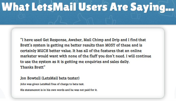 LetsMail By Mike From Maine Review