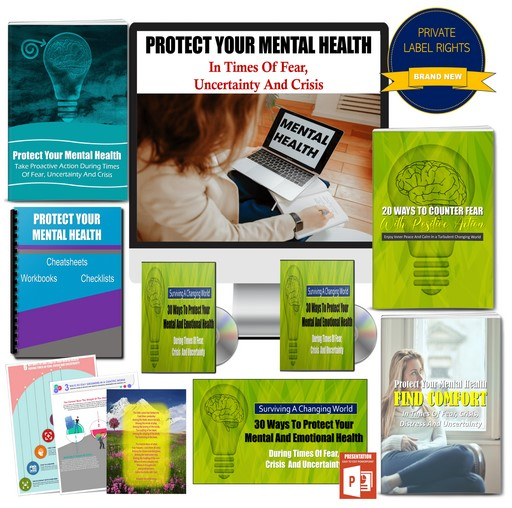 Survive A Changing World: Protect Your Mental Health In Times Of Fear, Crisis And Uncertainty - 325+ Piece PLR Pack By JR Lang Review