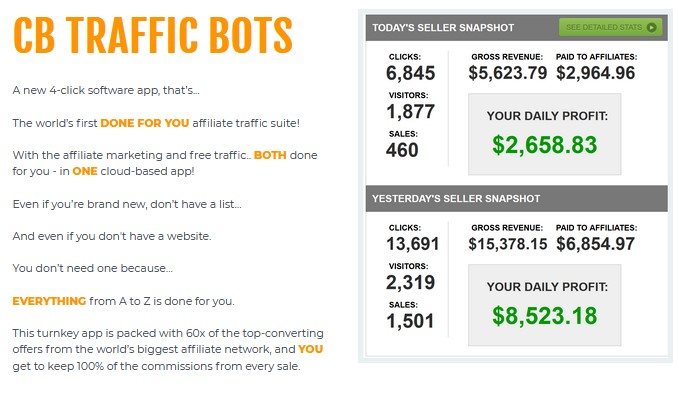 CB Traffic Bots By Chris X Review