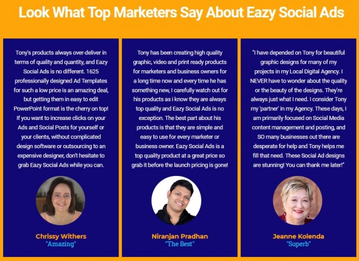Eazy Social Ads PLR By Tony Earp Review