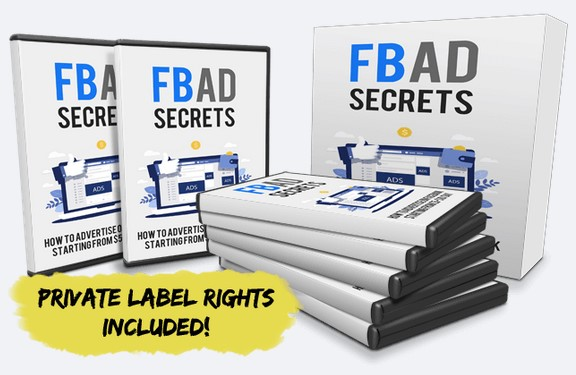 FB Ad Secrets PLR By Edmund Loh Review
