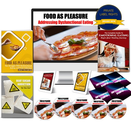 Food As Pleasure: Addressing Dysfunctional Eating Habits PLR Pack By JR Lang Review