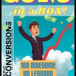 Guru in a Box PLR By Kam Jennings Review – 100 Awesome IM Lessons Done With Personality. Get a 100 audio lesson package for the Internet Marketing Niche. These lessons are told with charisma, packed full of stories, and loaded with actionable content. They come with FULL PLR LICENSE