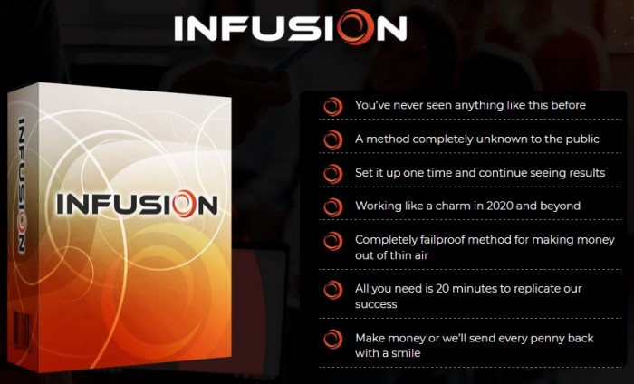 Infusion By Mark Barrett & James Fawcett Review