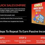 KD Quick Sales Empire By Alessandro Zamboni Review – Discover The Secret Kindle Niche Of Super Short Books That Your Readers Actually NEED To Buy For Solving Their Problems