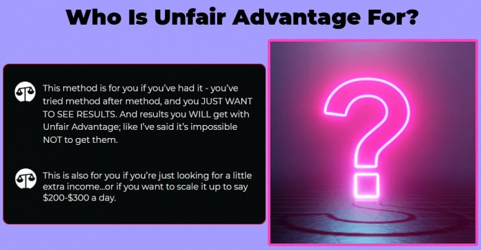 Unfair Advantage App By Vick Carty Review