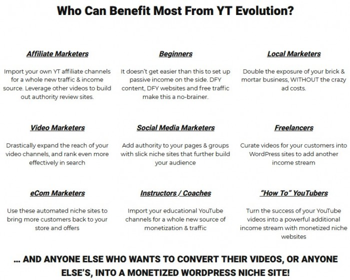 YT Evolution By Chris Derenberger Review
