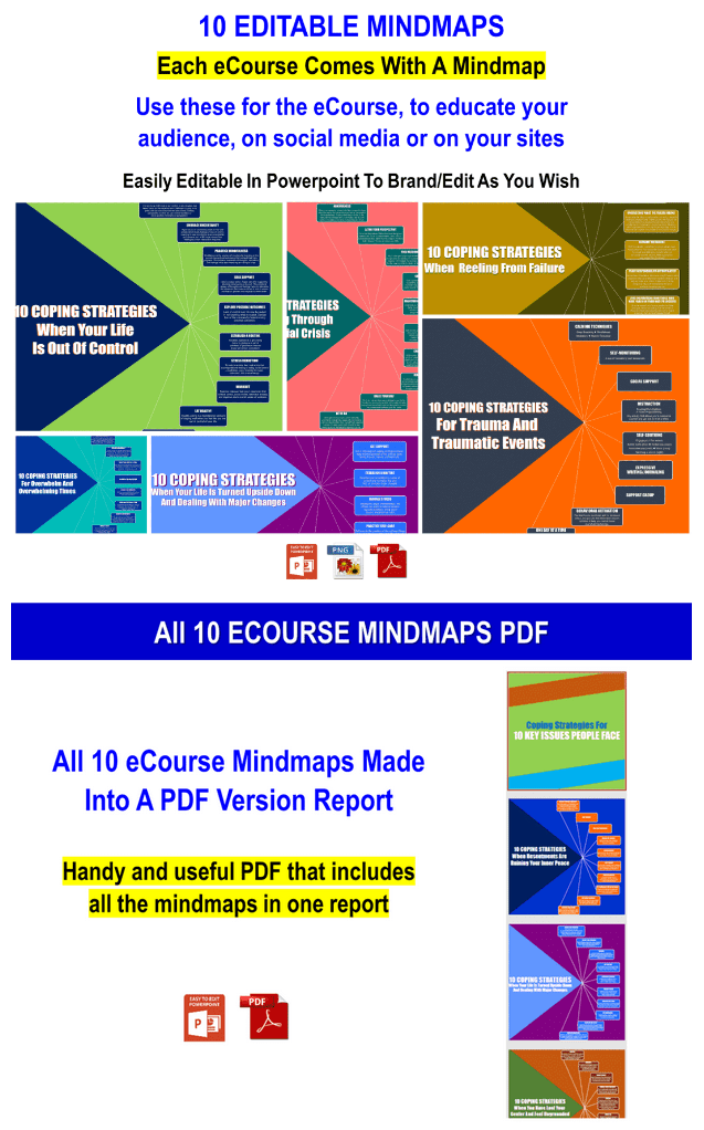 10 Part Ecourse: Coping Strategies For 10 Key Issues People Face PLR Pack By JR Lang Review