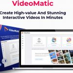 VideoMatic By Victory Akpos Review – A Revolutionary Next Generation Video Creator. Create High-value And Stunning Interactive Videos In Minutes