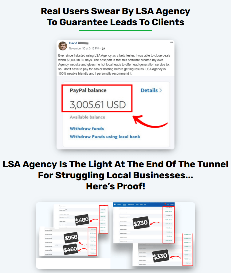 LSA Agency Premium - Review by review-product-launch