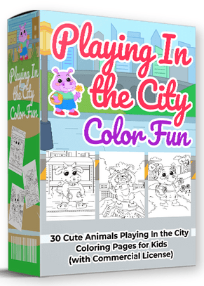 Playing In the City Color Fun By Pixelcrafter Review