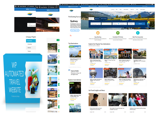 WP Automated Travel Website By Darl Hygi Review