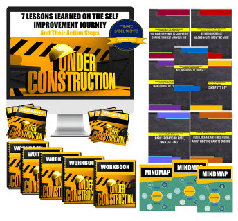 7 Lessons Learned On The Self Improvement Journey & Action Steps PLR Pack By JR Lang Review